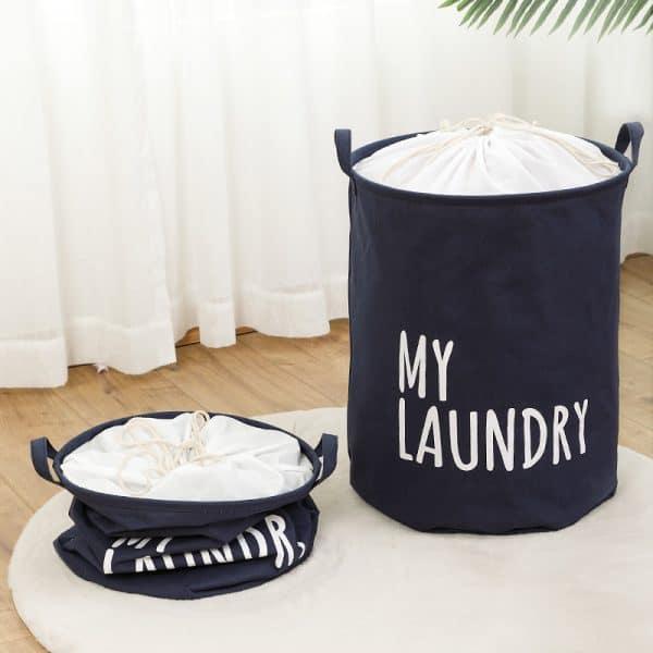 Giỏ đựng quần áo đa năng gấp gọn, sọt vải đựng đồ tiện lợi