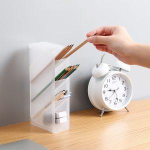 Hộp nhựa để đồ chia tầng, khay đựng bút chia ngăn