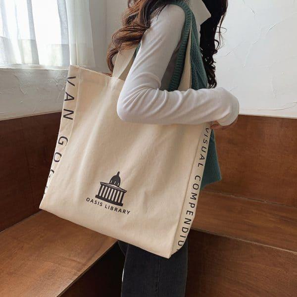 Túi vải, túi tote phong cách vintage