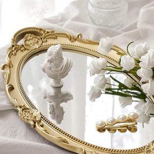 Gương trang điểm kiểu cổ điển
