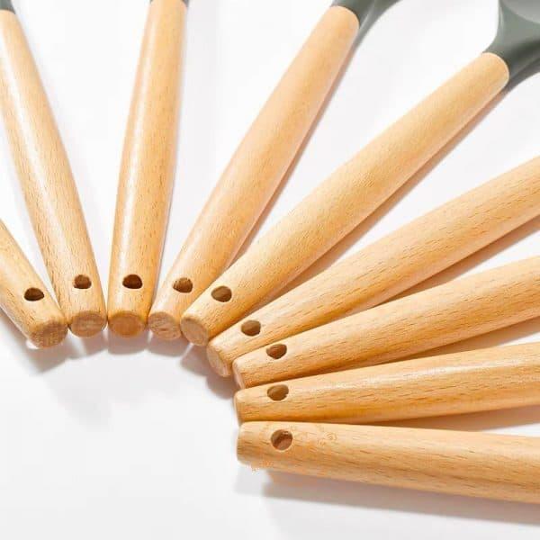 Bộ 12 Dụng cụ nấu ăn Silicon chịu nhiệt an toàn