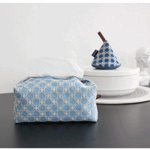 Hộp đựng giấy ăn, hộp đựng khăn ăn bằng vải cotton