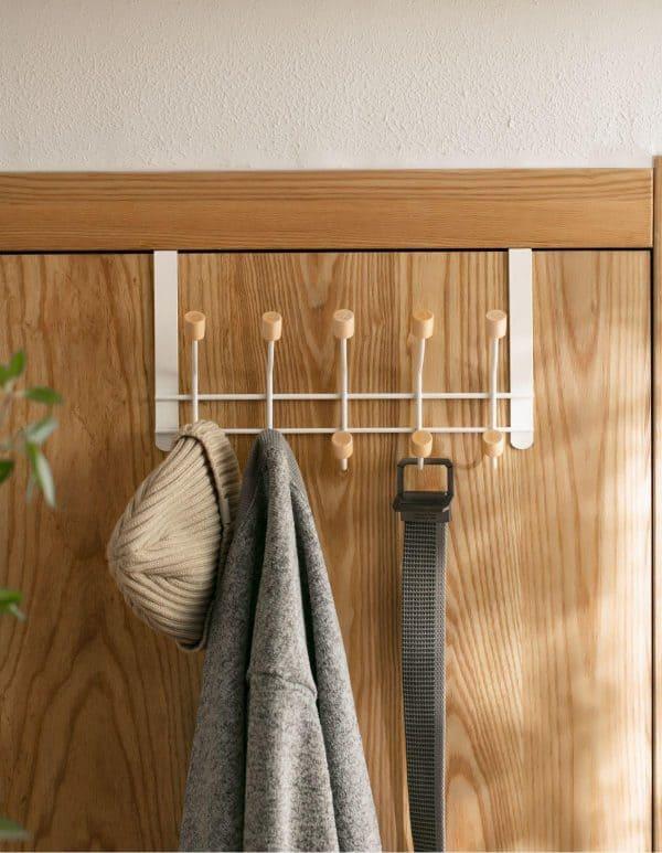 Móc treo quần áo sau cửa không cần khoan - hàng loại 1 siêu đẹp