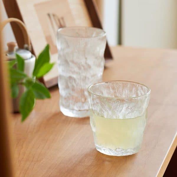 Cốc thủy tinh, ly thủy tinh chịu nhiệt cao cấp, ly uống nước mùa Hè