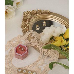 Gương trang trí, gương trang điểm làm phụ kiện chụp ảnh phong cách retro, Châu Âu - cutam.homedecor