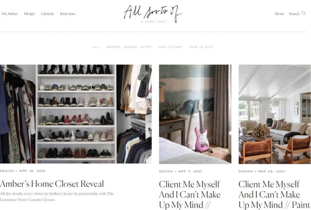 25 trang blog thiết kế nội thất