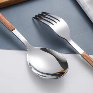 Thìa, dĩa, dao phong cách Bắc Âu cao cấp