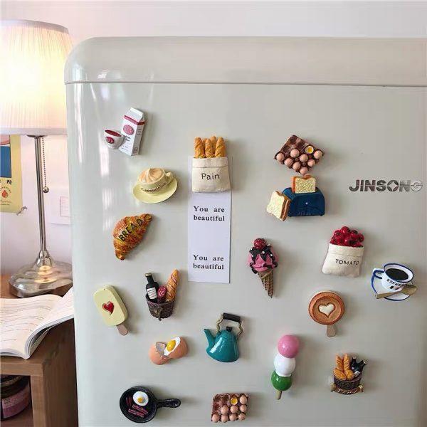 Nam châm dán trang trí, magnet trang trí tủ lạnh phong cách Hàn Quốc - cutam.homedecor - Bình sữa 20