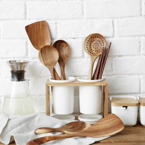 Ống cắm đũa, ống đựng đũa và đồ dùng nhà bếp phong cách Bắc Âu - cutam.homedecor 4