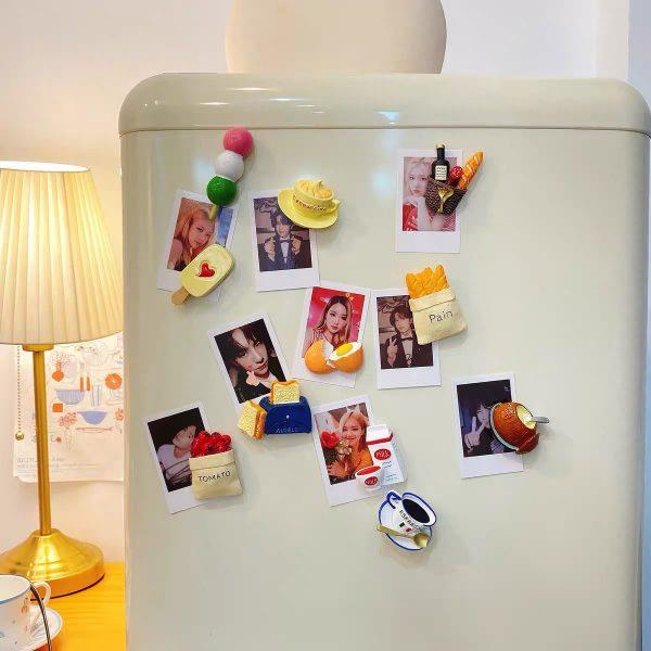 Nam châm dán trang trí, magnet trang trí tủ lạnh phong cách Hàn Quốc - cutam.homedecor - Bình sữa 17