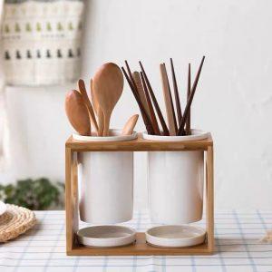 Ống cắm đũa, ống đựng đũa và đồ dùng nhà bếp phong cách Bắc Âu - cutam.homedecor 5