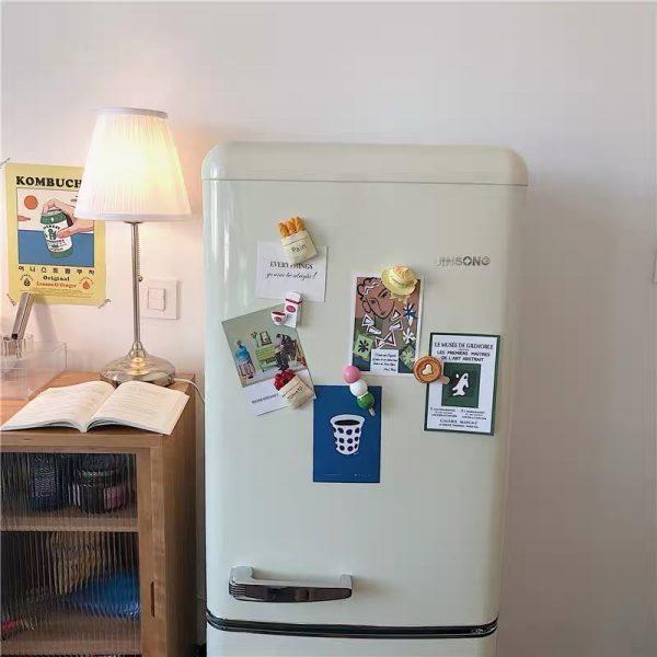 Nam châm dán trang trí, magnet trang trí tủ lạnh phong cách Hàn Quốc - cutam.homedecor - Bình sữa 16