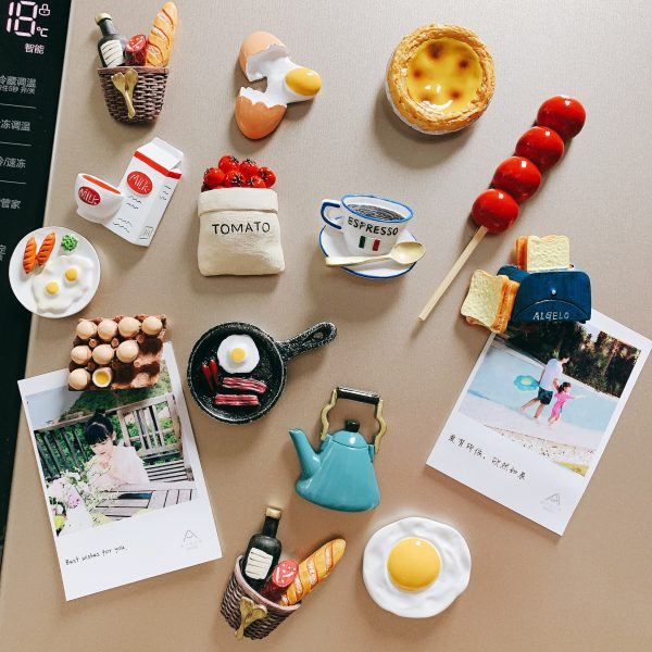 Nam châm dán trang trí, magnet trang trí tủ lạnh phong cách Hàn Quốc - cutam.homedecor - Bình sữa 15