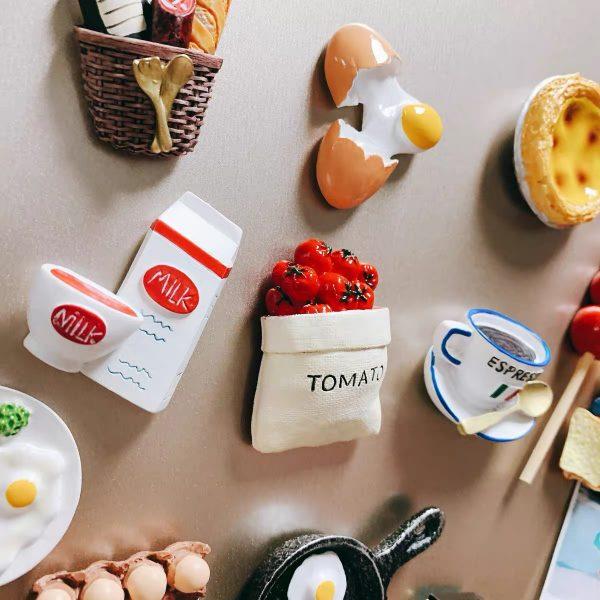 Nam châm dán trang trí, magnet trang trí tủ lạnh phong cách Hàn Quốc - cutam.homedecor - Bình sữa 13